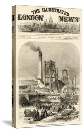Morley Main Colliery, Near Dewsbury--Stretched Canvas Print