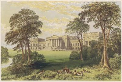 Stowe, Buckinghamshire--Stretched Canvas Print