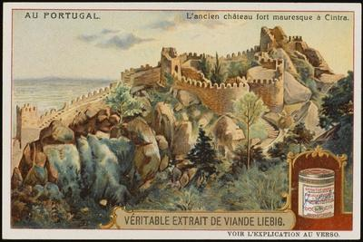 The Picturesque Ancient Moorish Castle--Stretched Canvas Print