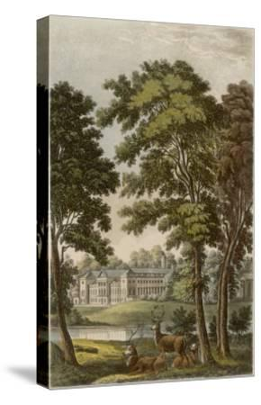 Woburn Abbey, Bedfordshire: Seat of the Duke of Bedford--Stretched Canvas Print