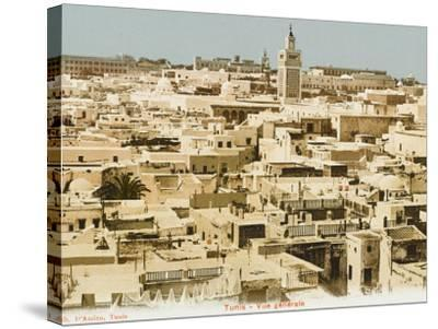 A General Panoramic View of the Rooftops of Tunis, Tunisia--Stretched Canvas Print