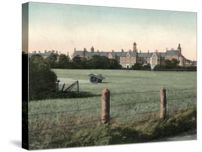 Durham County Lunatic Asylum, Sedgefield-Peter Higginbotham-Stretched Canvas Print