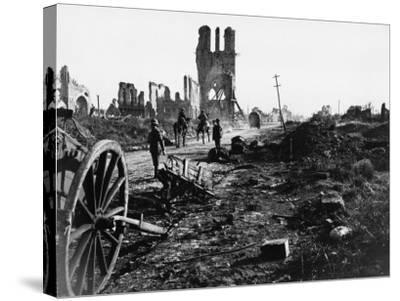 Battle of Ypres 1918-Robert Hunt-Stretched Canvas Print