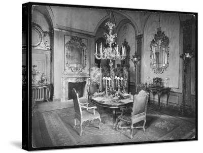 Italian Dining Room--Stretched Canvas Print