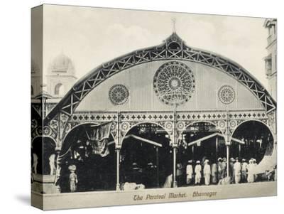 Percival Market, Gujarat, India--Stretched Canvas Print