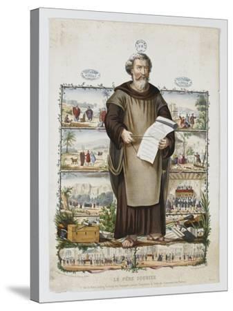 Le père Soubise--Stretched Canvas Print