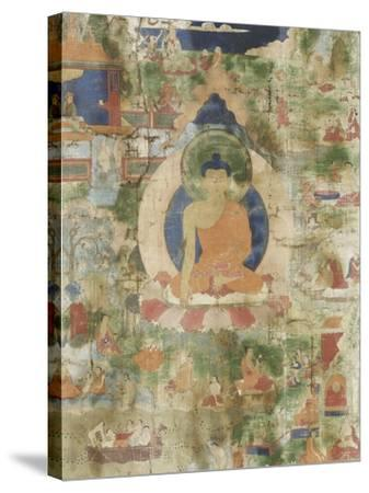 Vie de Budha--Stretched Canvas Print