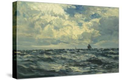 Marine-Henry Moore-Stretched Canvas Print