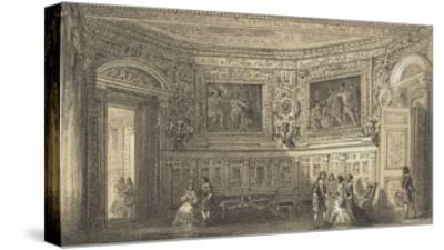 Salon Louis XIII--Stretched Canvas Print