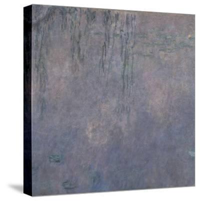 Les Nymphéas : Les Deux saules-Claude Monet-Stretched Canvas Print