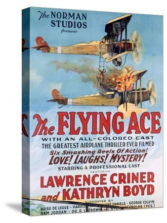 The Flying Ace Movie Poster--Stretched Canvas Print