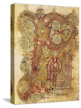 Book of Kells--Stretched Canvas Print