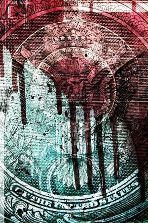 Cold Cash-Alex Cherry-Stretched Canvas Print