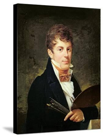 Portrait of Lancelot Theodore Turpin De Crisse-Louis Andre Gabriel Bouchet-Stretched Canvas Print