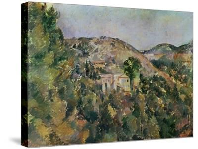 View of the Domaine Saint-Joseph, Late 1880S-Paul C?zanne-Stretched Canvas Print