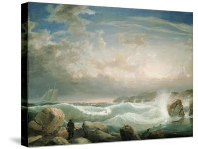 Rafe's Chasm, Gloucester, Massachusetts-Fitz Hugh Lane-Stretched Canvas Print
