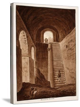 The Praetorian Reservoir, 1833-Agostino Tofanelli-Stretched Canvas Print