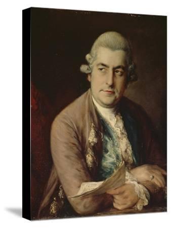 Johann Christian Bach, 1776-Thomas Gainsborough-Stretched Canvas Print