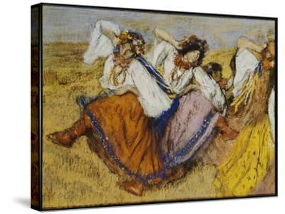 Russian Dancers, C.1895-Edgar Degas-Stretched Canvas Print