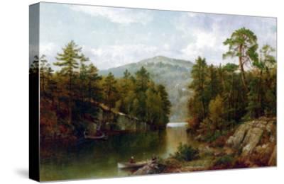 The Lake George, 1876-David Johnson-Stretched Canvas Print