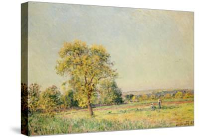 A Summer's Day, 1886-Alfred Sisley-Stretched Canvas Print
