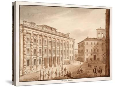 Antonine Temple, 1833-Agostino Tofanelli-Stretched Canvas Print