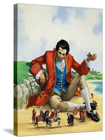 Gulliver's Travels-Nadir Quinto-Stretched Canvas Print