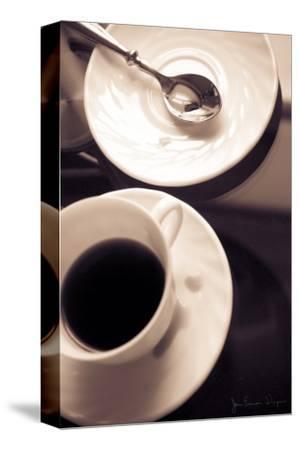 Caféfolie-Jean-Fran?ois Dupuis-Stretched Canvas Print