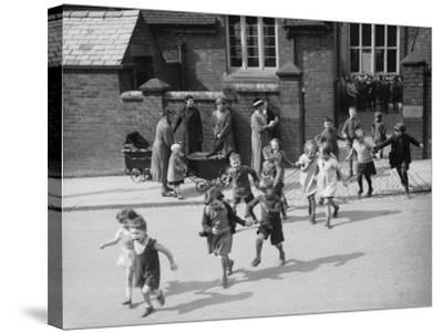 School For Twins--Stretched Canvas Print