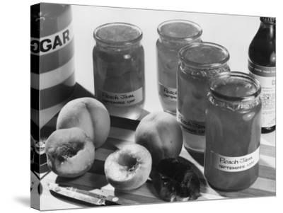 Peach Preserves-Chaloner Woods-Stretched Canvas Print