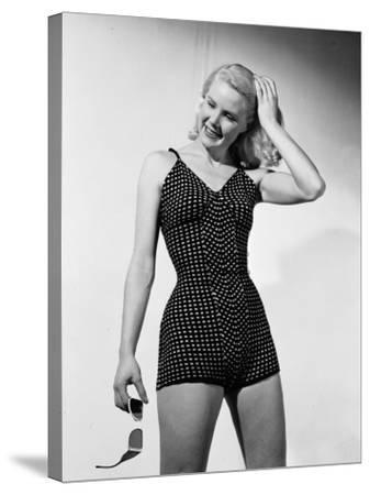 Bathing Suit-Chaloner Woods-Stretched Canvas Print