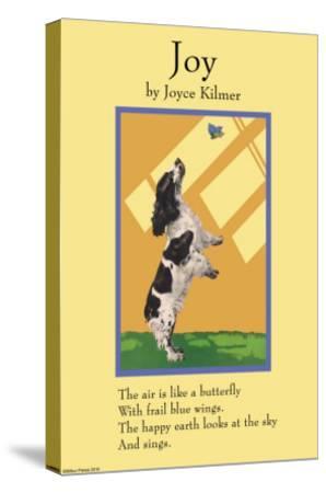 Joy--Stretched Canvas Print