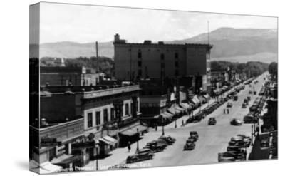 Grand Junction, Colorado - Street Scene-Lantern Press-Stretched Canvas Print