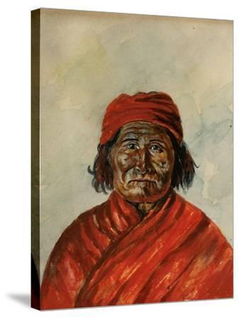 Geronimo-W.J. Ryan-Stretched Canvas Print