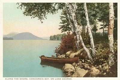 Concordia Bay, Lake George, New York--Stretched Canvas Print