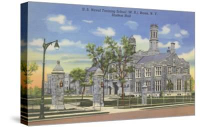 Naval Training School, Bronx, New York--Stretched Canvas Print
