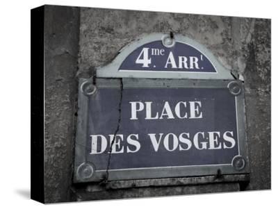 Place Des Vosges, Marais District, Paris, France-Jon Arnold-Stretched Canvas Print
