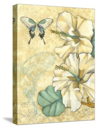 Small Hibiscus Medley I-Jennifer Goldberger-Stretched Canvas Print