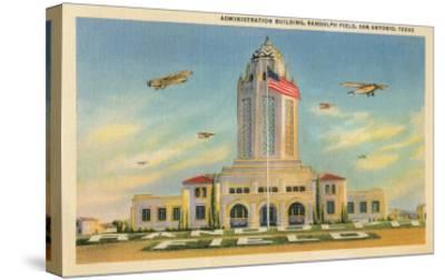 Randolph Air Field, San Antonio, Texas--Stretched Canvas Print