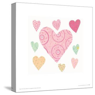 Lots of Love-Rachel Taylor-Stretched Canvas Print