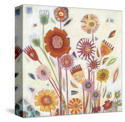 Summer Blooms-Shyama Ruffell-Stretched Canvas Print