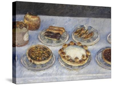 Cakes; Gateaux-Gustave Caillebotte-Stretched Canvas Print