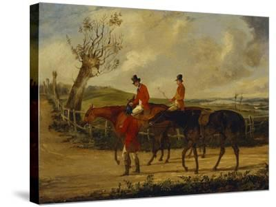 Going Home-Henry Thomas Alken-Stretched Canvas Print