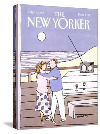 The New Yorker Cover - July 17, 1989-Devera Ehrenberg-Stretched Canvas Print