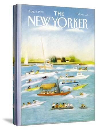 The New Yorker Cover - August 8, 1988-Susan Davis-Stretched Canvas Print