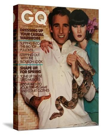 GQ Cover - April 1976-Albert Watson-Stretched Canvas Print