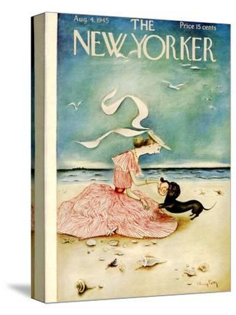The New Yorker Cover - August 4, 1945-Mary Petty-Stretched Canvas Print