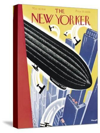 The New Yorker Cover - May 10, 1930-Theodore G. Haupt-Stretched Canvas Print
