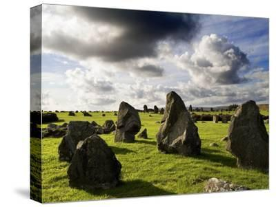 Beaghmore Stone Circles in County Tyrone, Northern Ireland-Chris Hill-Stretched Canvas Print