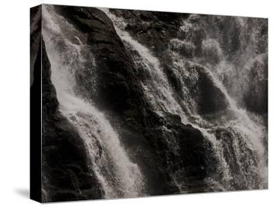 Waterfalls at Walter Sisulu Botanical Gardens-Beverly Joubert-Stretched Canvas Print